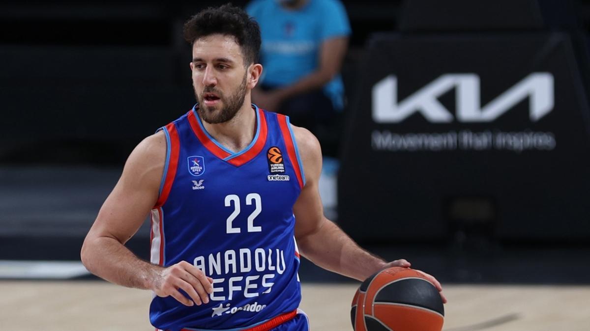 MVP ödülü Vasilije Micic'in