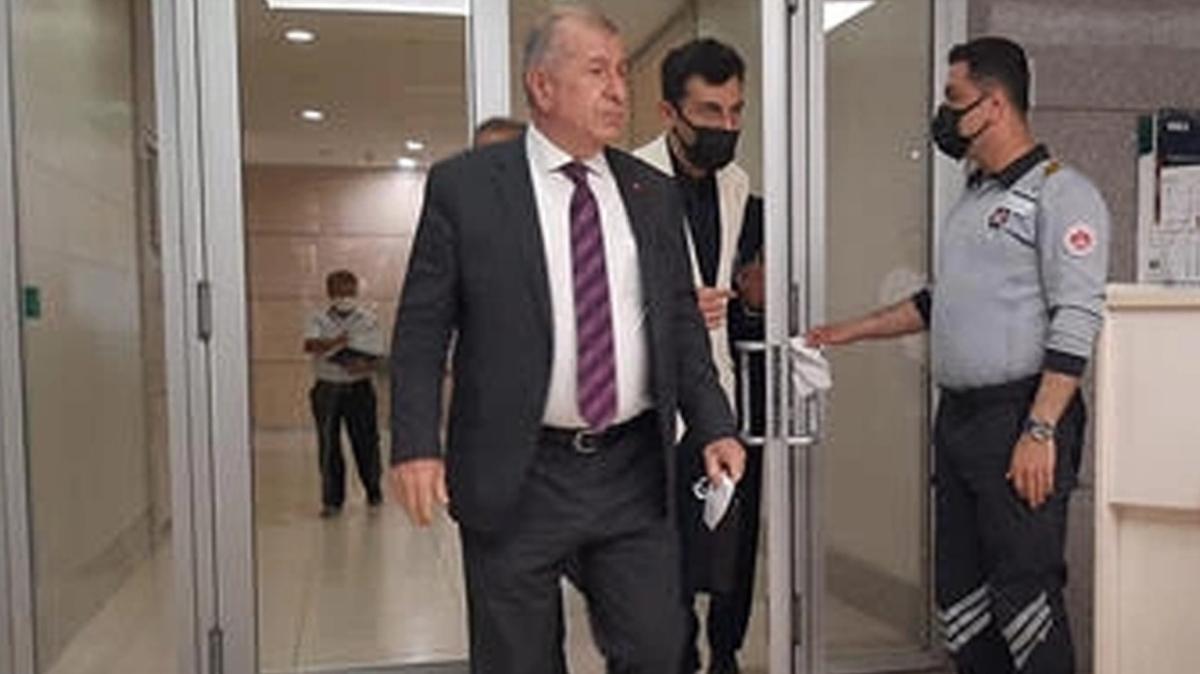 Ümit Özdağ İstanbul Adliyesi'nde: Buğra Kavuncu'nun FETÖ soruşturmasında bilgisine başvuruluyor