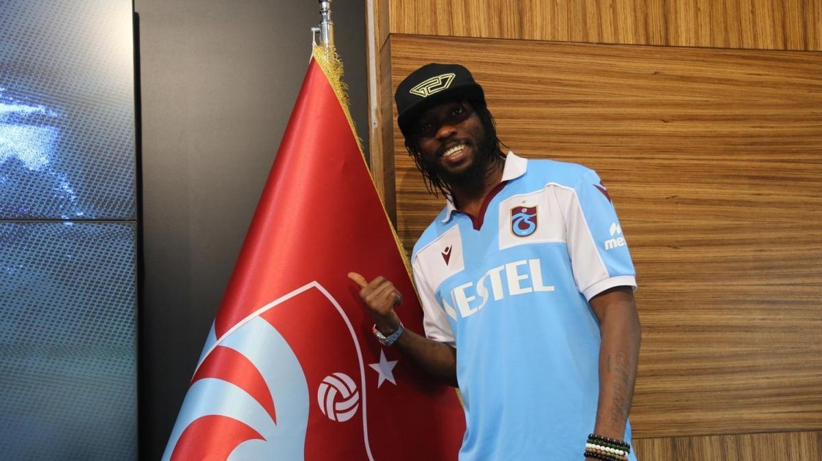 Trabzonspor, Gervinho'yu KAP'a bildirdi