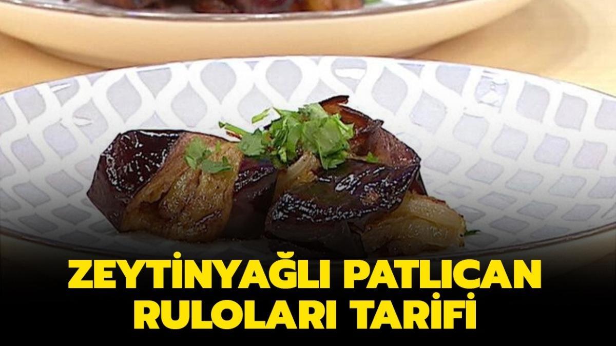 """Gelinim Mutfakta zeytinyağlı patlıcan ruloları tarifi, malzemeleri! Zeytinyağlı patlıcan ruloları nasıl yapılır"""""""