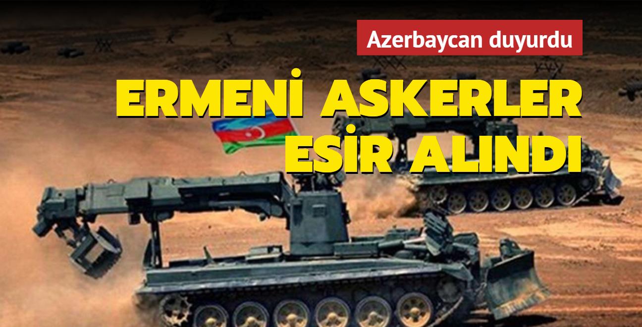 Azerbaycan: 6 Ermenistan askeri esir alındı