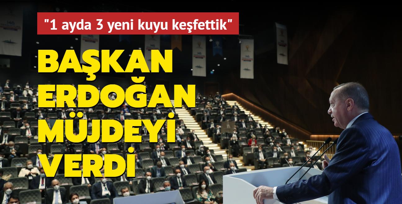 """Son dakika haberi: Başkan Erdoğan, Demokrasi ve Özgürlükler Adası'nda müjdeyi verdi! """"3 yeni kuyuda petrol keşfettik"""""""