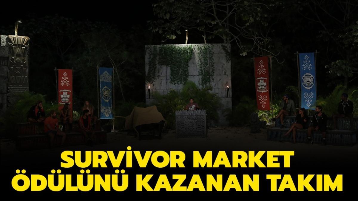 """26 Mayıs Survivor'da dün akşam hangi takım ödülü kazandı"""" Survivor market ödülünü ve Anlat Bakalım'ı kim kazandı"""""""