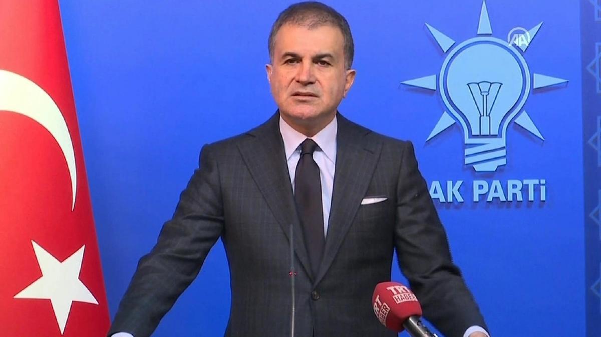 AK Parti Sözcüsü Çelik: Darbe, kendi milletine silah doğrultma ihanetidir