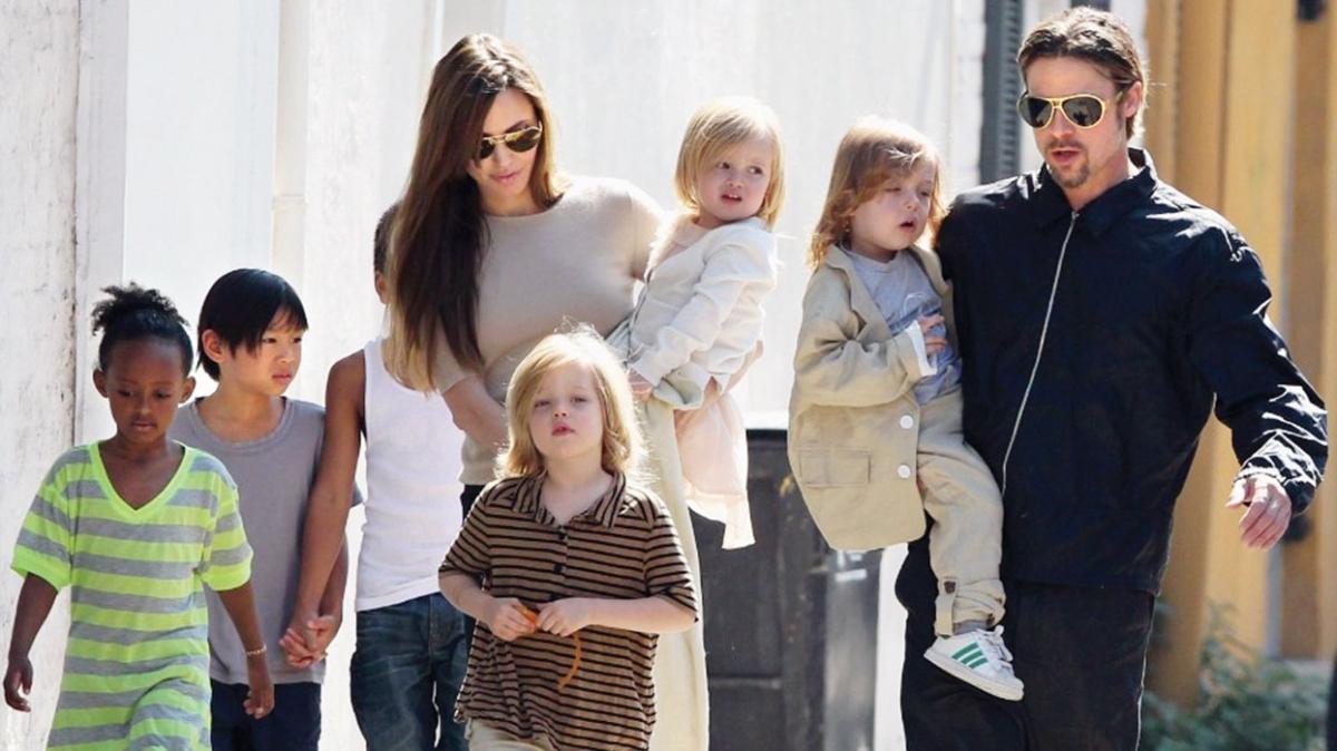 Angelina Jolie ve Brad Pitt'in velayet davasında karar çıktı