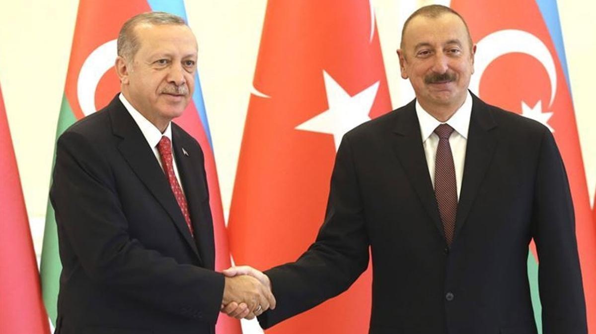 Cumhuriyet'in 103. yıl dönümü! Başkan Erdoğan'dan Aliyev'e kutlama mesajı