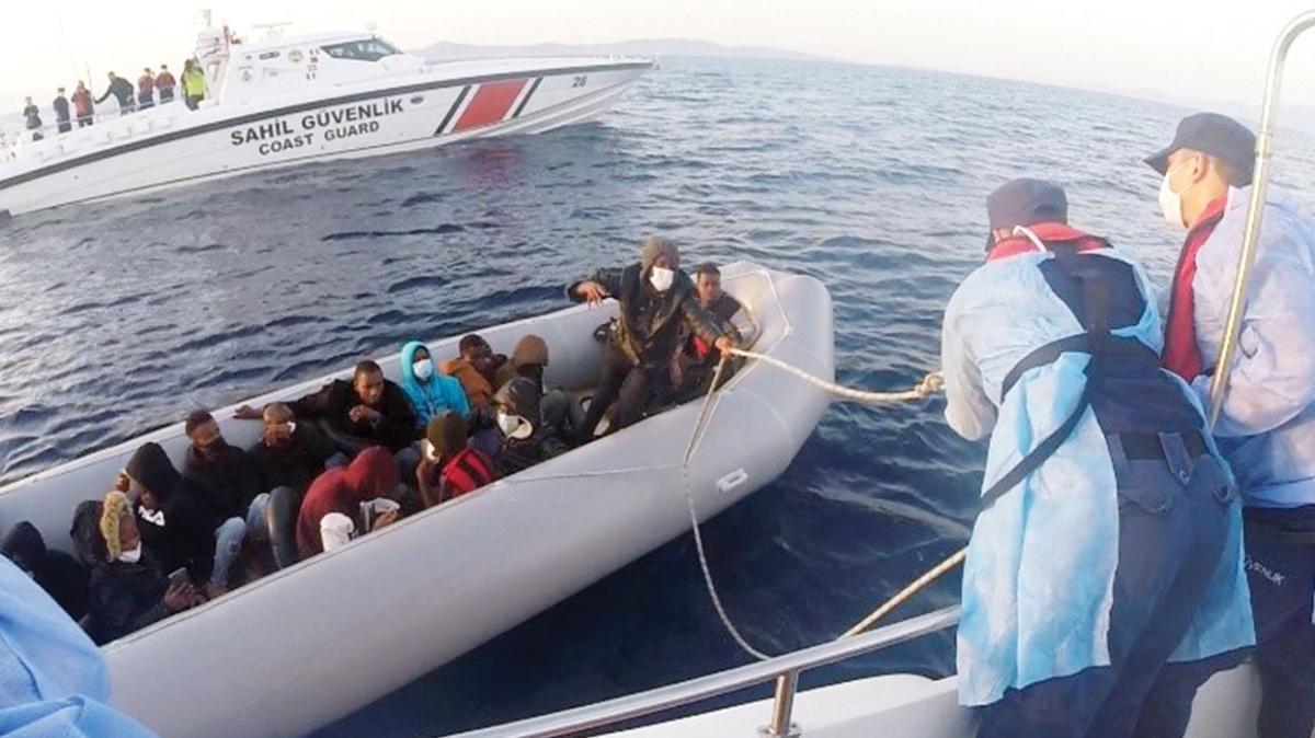 Dikili'de yine dram! Türkiye'ye itilen 21 sığınmacı kurtarıldı