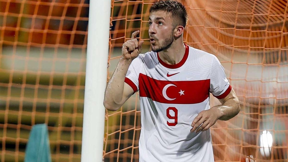 Halil Dervişoğlu gollerine Milli Takım'da devam ediyor