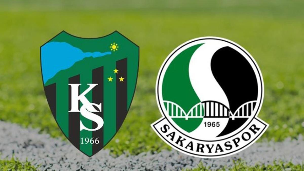 """Kocaelispor Sakaryaspor maçı bugün mü, saat kaçta"""" Kocaelispor Sakaryaspor play-off maçı hangi kanalda"""""""