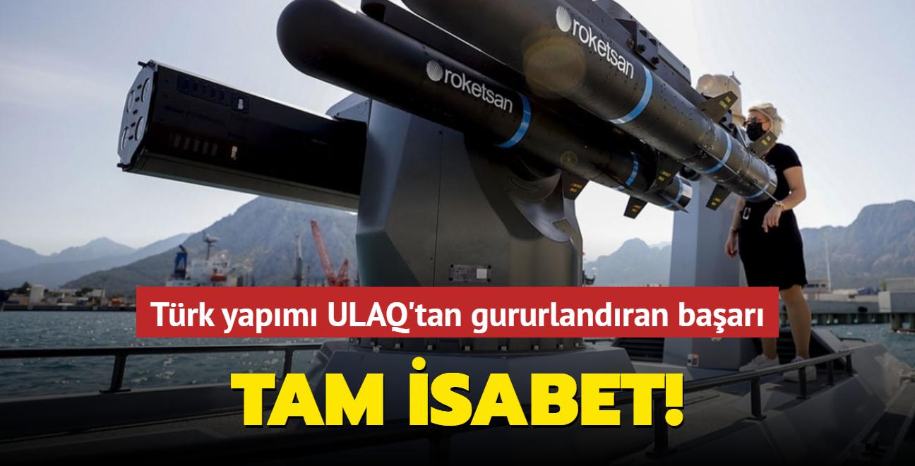 Türk yapımı Silahlı İnsansız Deniz Araçları hedefi başarıyla vurdu