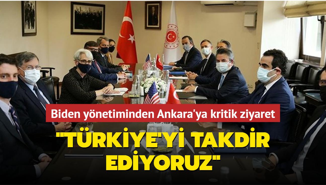 ABD Başkanı Biden yönetiminden Ankara'ya kritik ziyaret: Türkiye'yi takdir ediyoruz