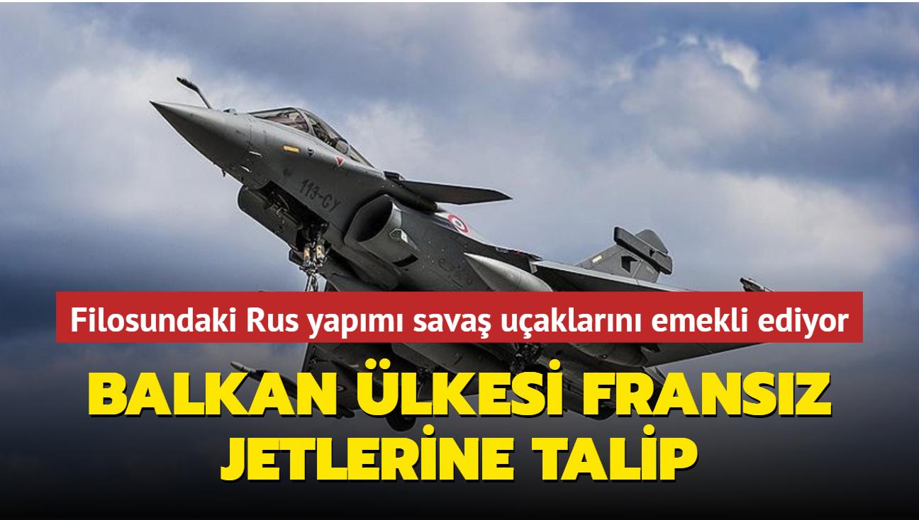 Filosundaki Rus yapımı savaş uçaklarını emekli ediyor... Balkan ülkesi Fransız jetlerine talip
