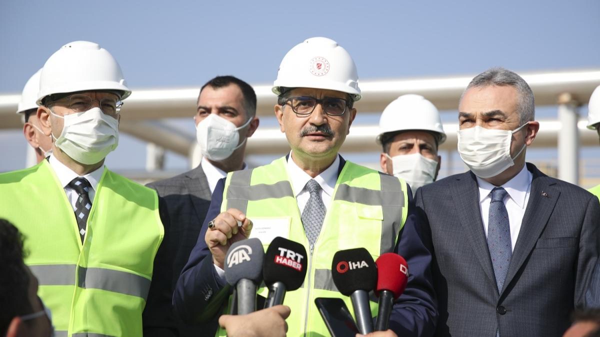 Bakan Fatih Dönmez, Aydın'da jeotermal santrali ziyareti etti