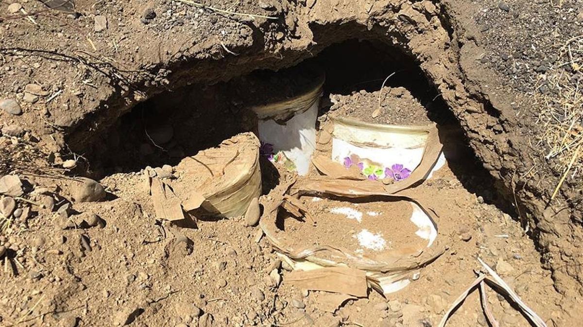 Bingöl'de terör örgütü PKK'ya operasyon... 2 el yapımı patlayıcı bulundu