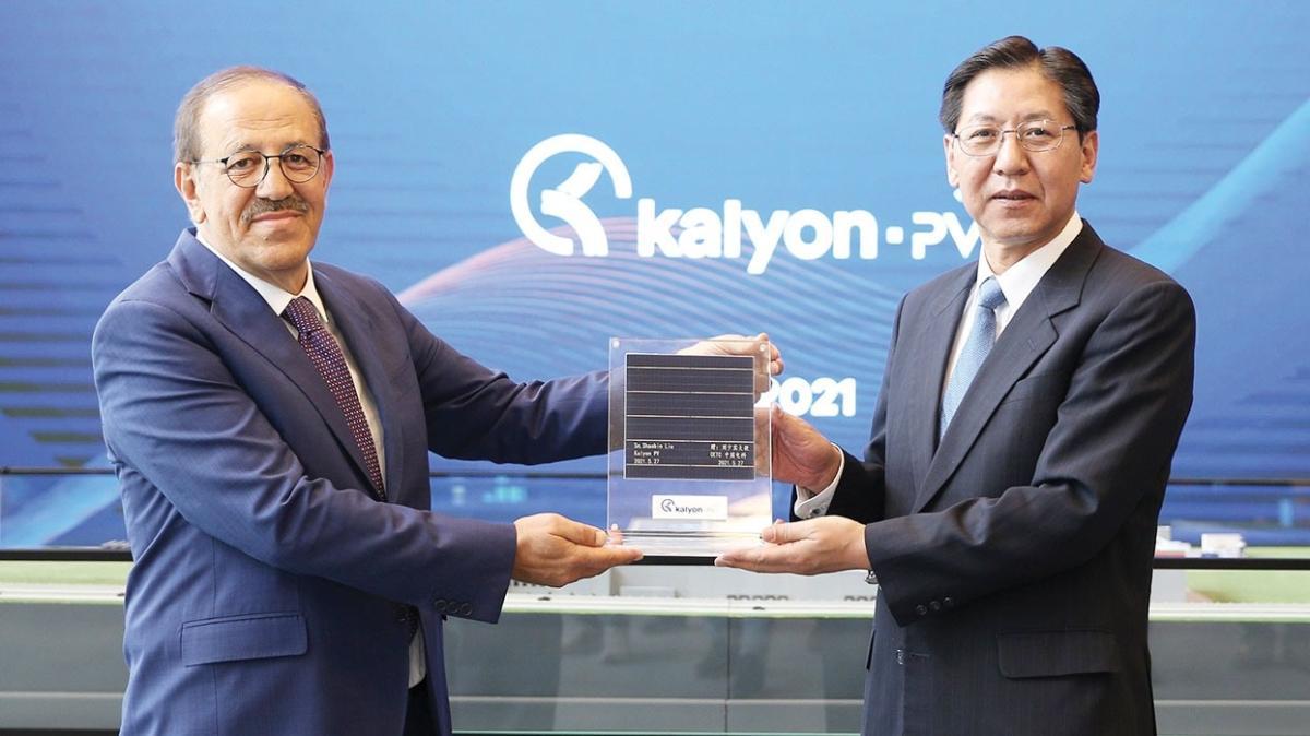 Çin'den Kalyon'un 'güneş'ine övgü: Benzersiz bir fabrika