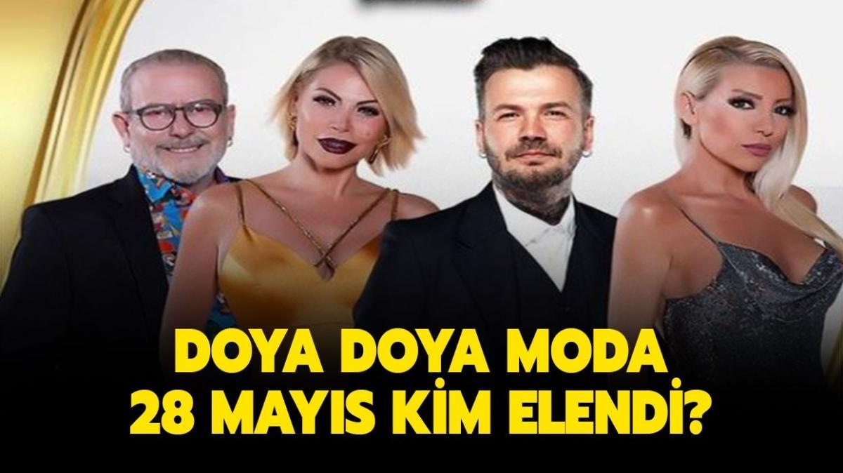 """Doya Doya Moda bu hafta kim elendi, kim birinci oldu"""" Doya Doya Moda 28 Mayıs puan durumu nasıl"""""""