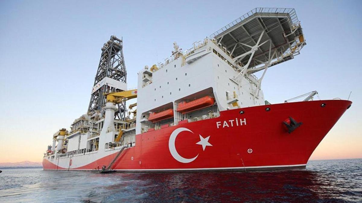 """""""Fatih"""" Türkali-3'te sondaja başladı"""