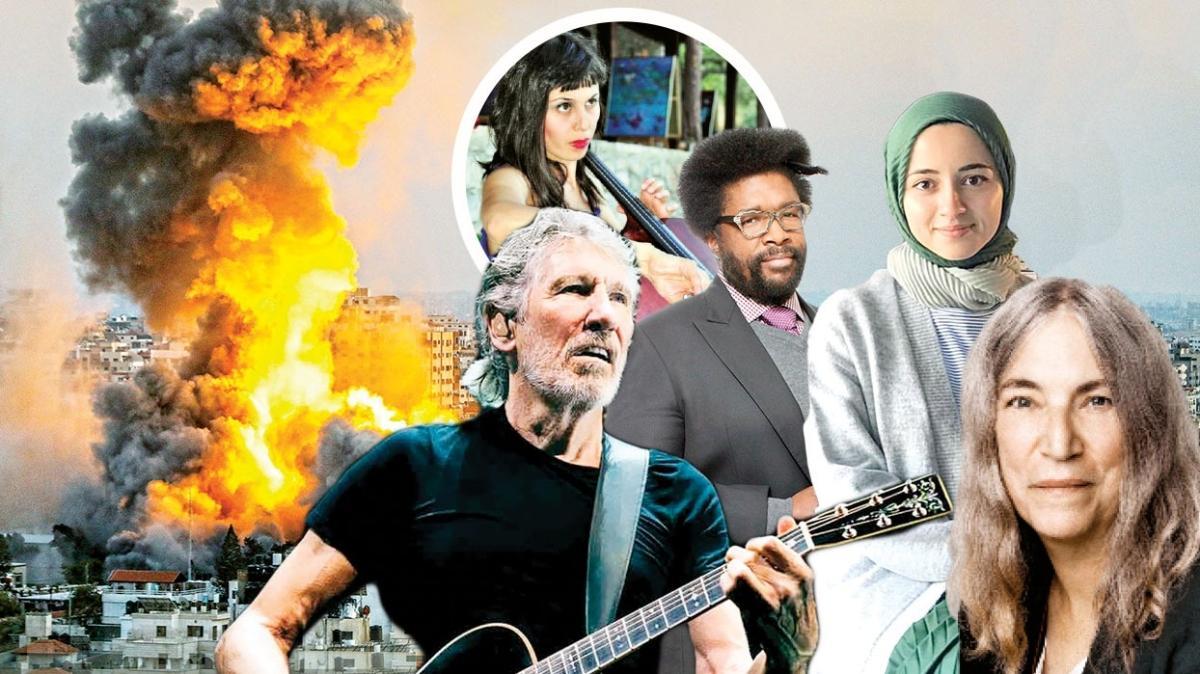 'Filistin'in yanında olmalıyız' 600 müzisyenden İsrail'e boykot