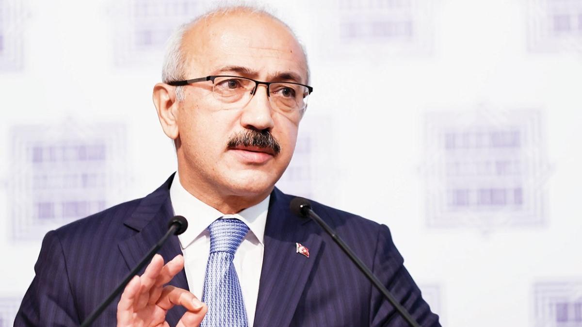Hazine ve Maliye Bakanı Lütfi Elvan: İlk çeyrekte büyüme yüzde 6'yı gösteriyor