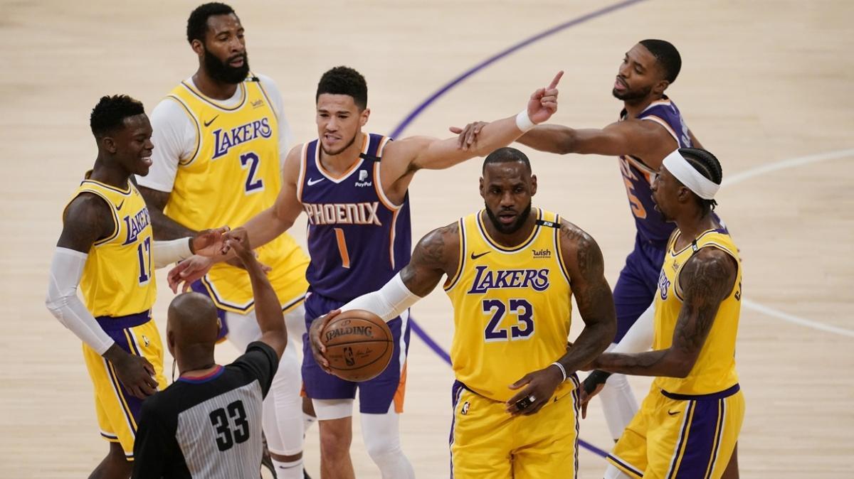 Los Angeles Lakers, Phoenix Suns'ı 109-95 yenerek seride 2-1 öne geçti