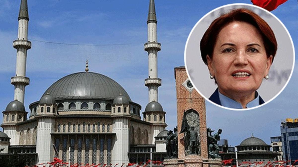 Meral Akşener'in yıllar önce yaptığı Taksim paylaşımı alay konusu oldu