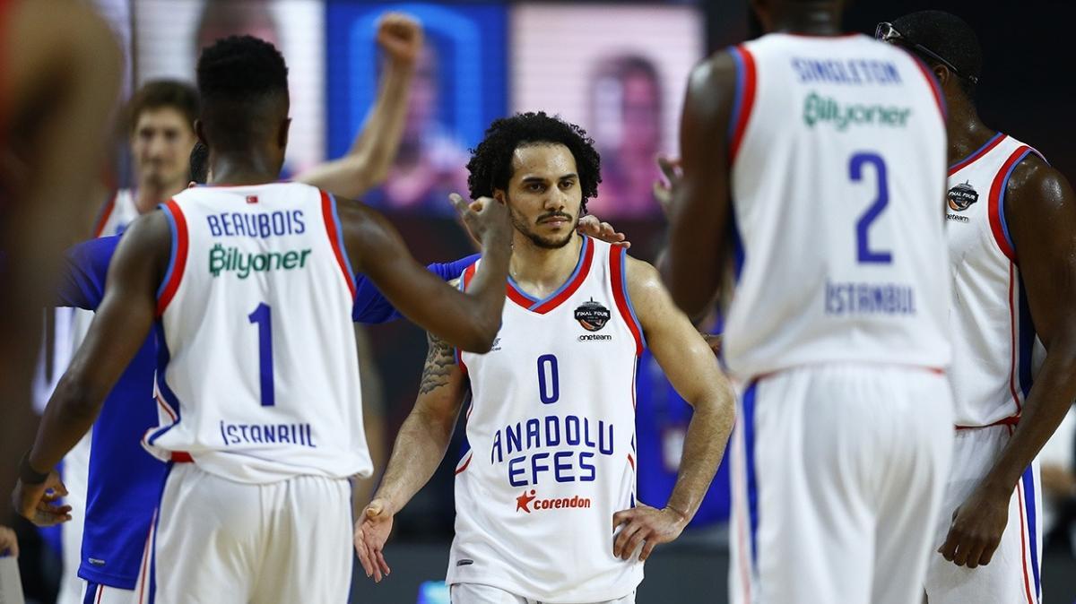 THY EuroLeague'de büyük başarı! Anadolu Efes finale yükseldi...