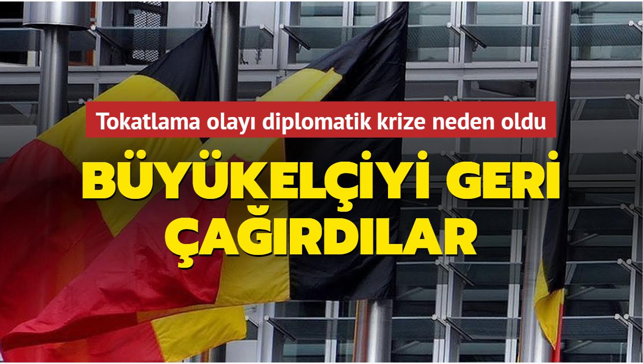 Tokatlama olayı diplomatik krize neden oldu... Büyükelçiyi geri çağırdılar