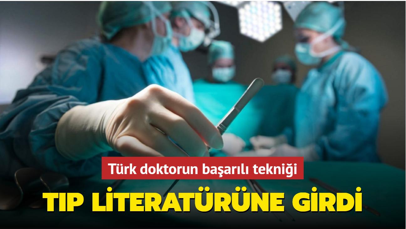 Türk doktorun tıp literatürüne geçen 'ağrısız biyopsi' tekniği