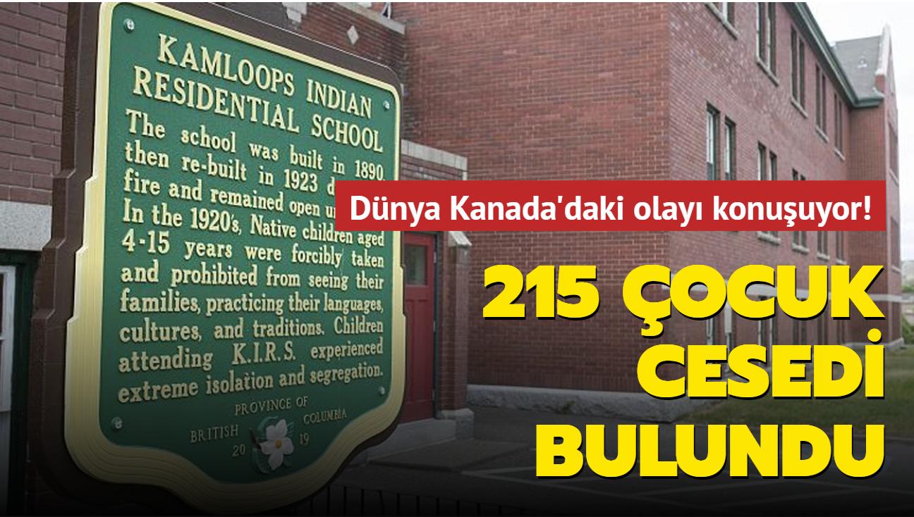 Dünya bu olayı konuşuyor! Kanada'da yatılı okulun bahçesinde 215 çocuğun cesedi bulundu