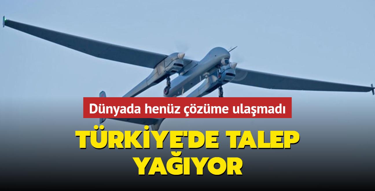 Türkiye İHA'larla taşımacılık yapacak