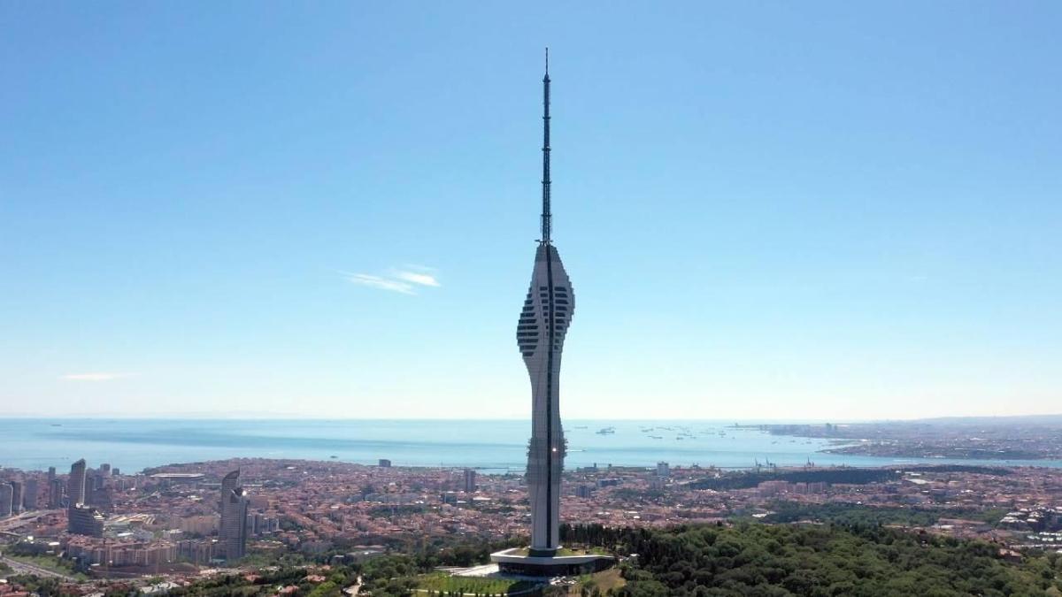 """Çamlıca Kulesi açıldı mı, nerede"""" Çamlıca Kulesi yüksekliği kaç metre"""""""