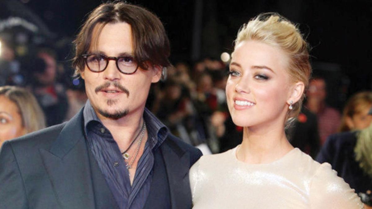 Johnny Depp'in eski eşi Amber Heard'den 3.5 milyon dolarlık yalan