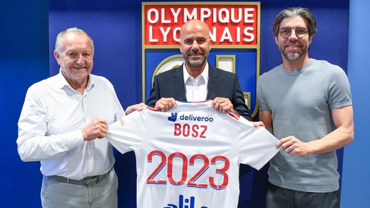 Olympique Lyon, Peter Bosz'a emanet