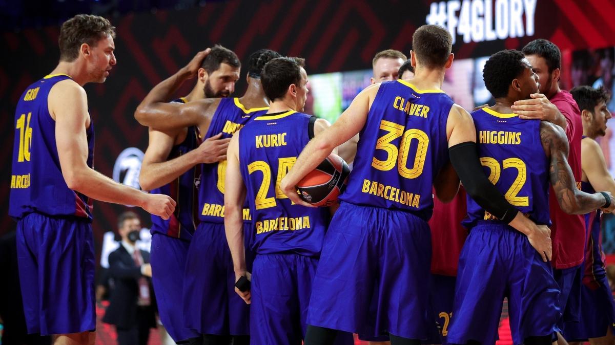 Anadolu Efes'in finaldeki rakibi Barcelona oldu