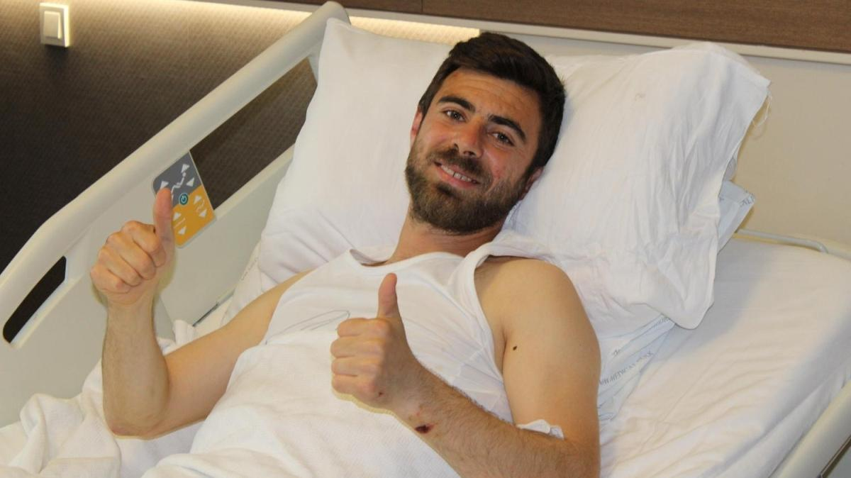 Şampiyonluk kutlamasında yaralanmıştı, Bahri Can Avcı'dan haber var!