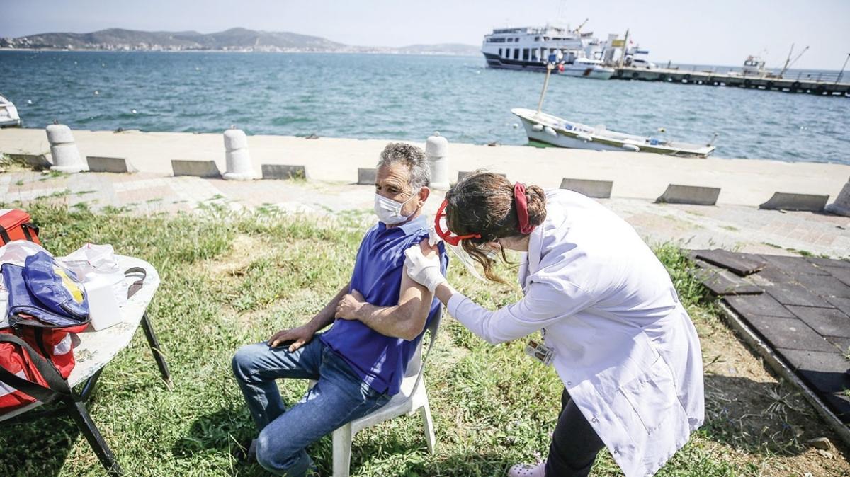 Aşı timleri adaya çıktı