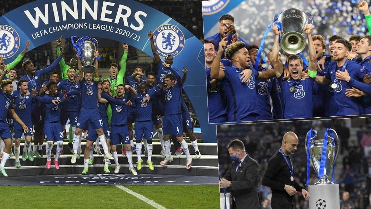 Avrupa'nın en büyüğü Chelsea! Maviler, 2020-2021 sezonunda Şampiyonlar Ligi şampiyonu oldu