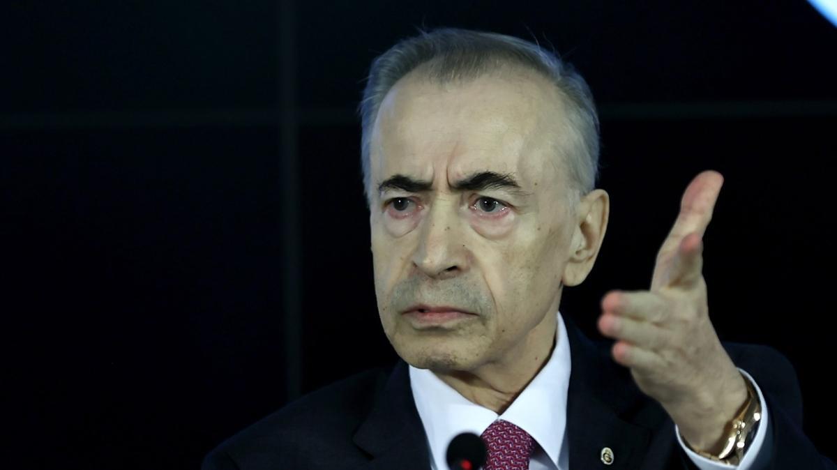 Galatasaray Başkanı Mustafa Cengiz'den Yiğit Şardan ve Abdurrahim Albayrak sözleri