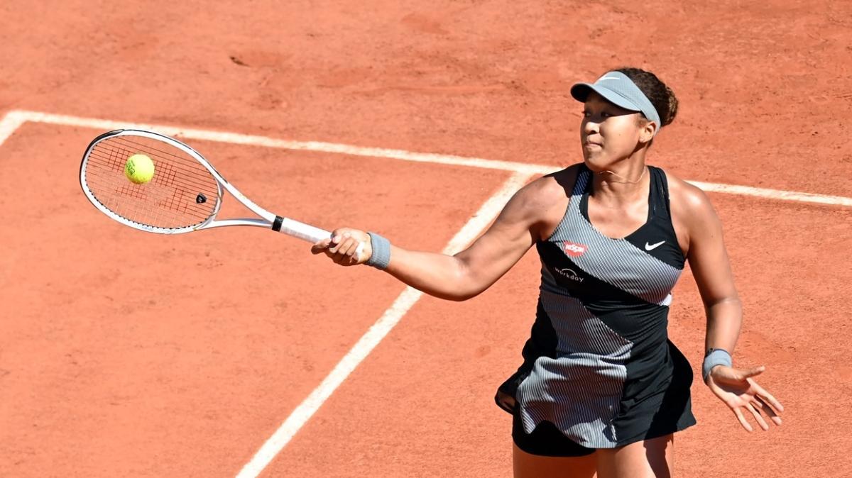 Roland Garros'un ilk gününde Naomi Osaka turladı