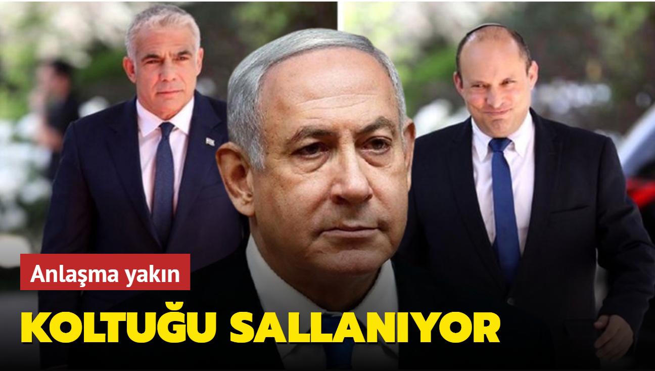 İsrail'de yeni koalisyon hükümeti Netanyahu'nun koltuğunu sallayabilir