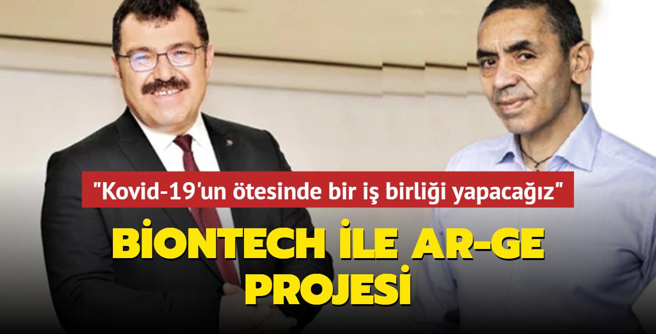 Biontech ile AR-GE projesi