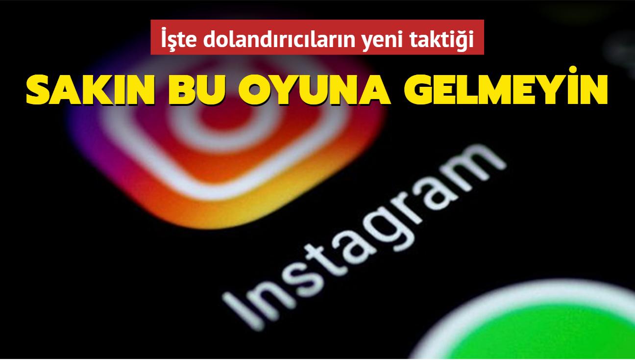 İşte dolandırıcıların yeni taktiği: Instagram bank!