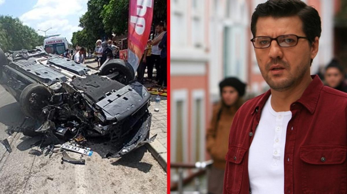 Aracı hurdaya dönmüştü... İlker Aksum trafik kazasının ardından ilk kez konuştu