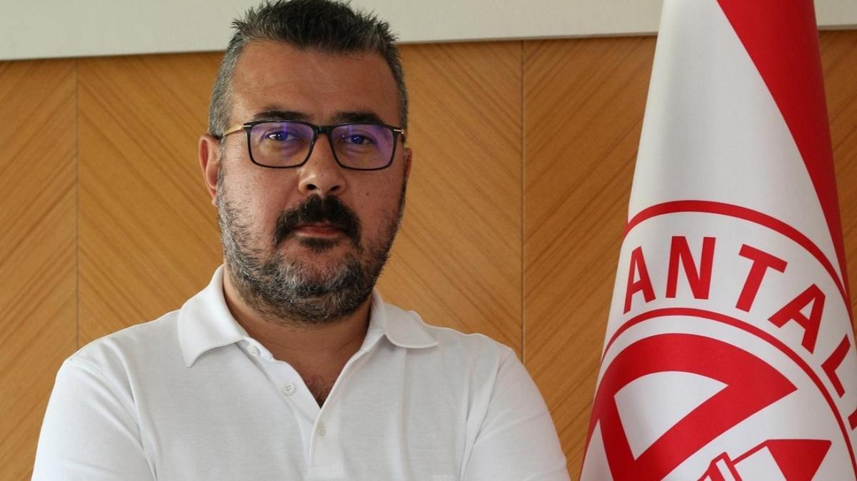 Aziz Çetin, Antalyaspor'un yeni başkanı oldu