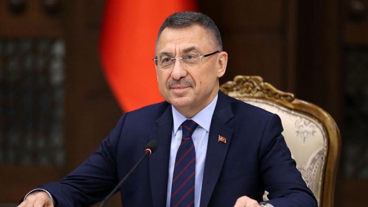 Cumhurbaşkanı Yardımcısı Fuat Oktay, THY Avrupa Ligi şampiyonu Anadolu Efes'i kutladı