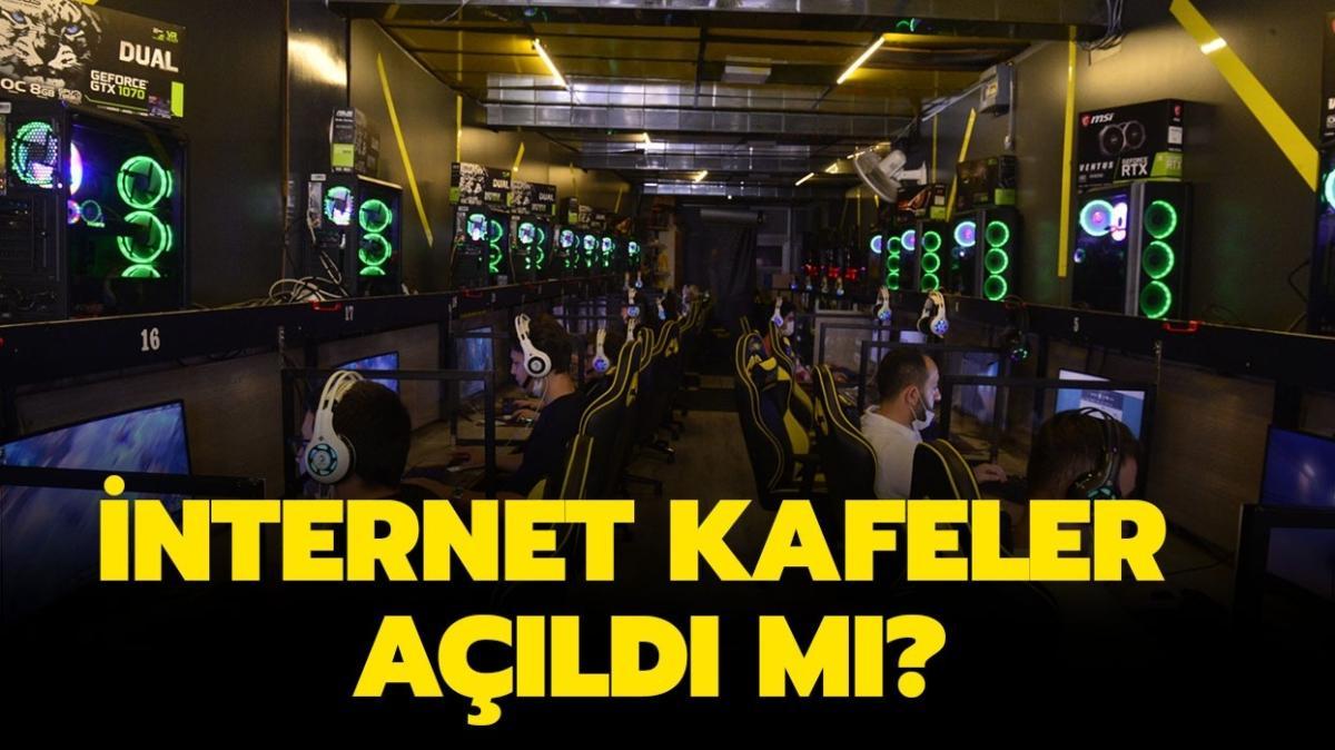 """Bugün internet kafeler açık mı"""" 1 Haziran'da internet kafeler açıldı mı"""""""
