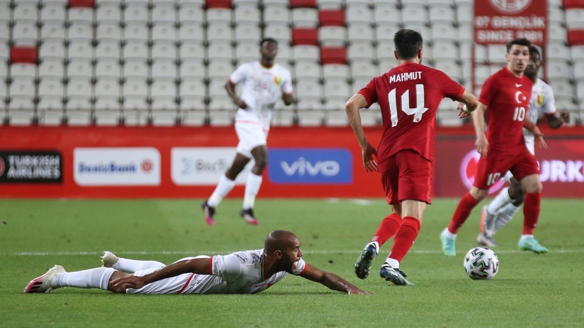 Milli Takım'dan Gine ile golsüz prova: 0-0