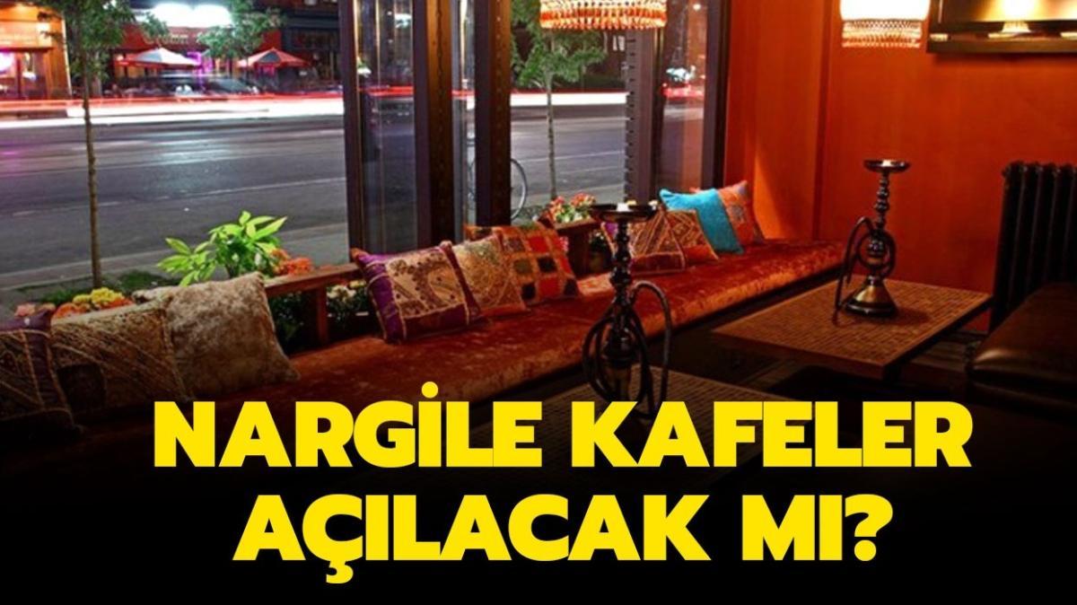 """1 Haziran nargile yasağı bitecek mi"""" Nargile kafeler açıldı mı"""""""