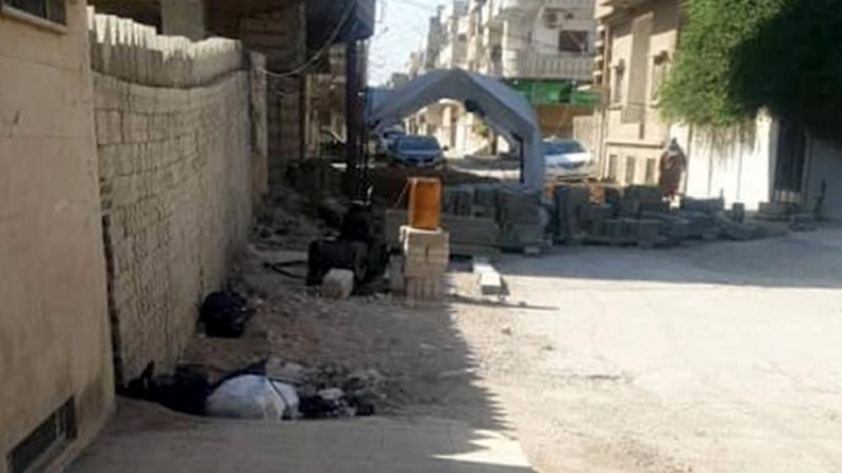 PKK Suriye-Türkiye sınırında tünel kazıyor