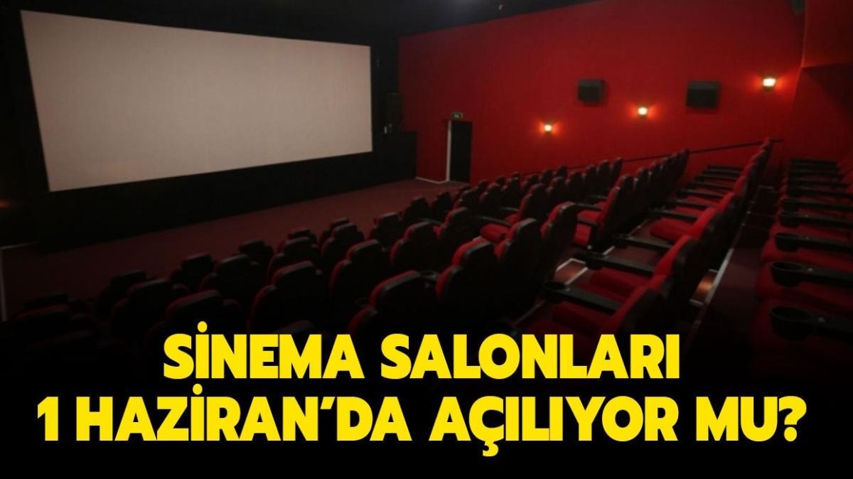"""1 Haziran'da sinema salonları açıldı mı"""" Sinema salonları ne zaman açılacak"""""""
